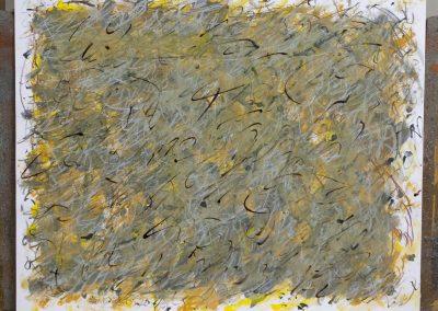 103. Zöld kert 2008. (40x50 cm) papír