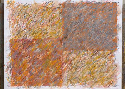 109. Avar a kertben 2008. (40x50 cm) papír