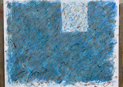 112. A Duna a kertnél van 2008. (40x50 cm) papír