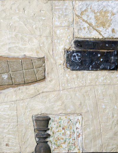 120. Fal télen 2008. (50x40 cm) v.t.