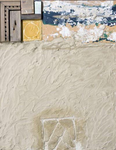 121. Meszelt fal 2009. (50x40 cm) v.t.