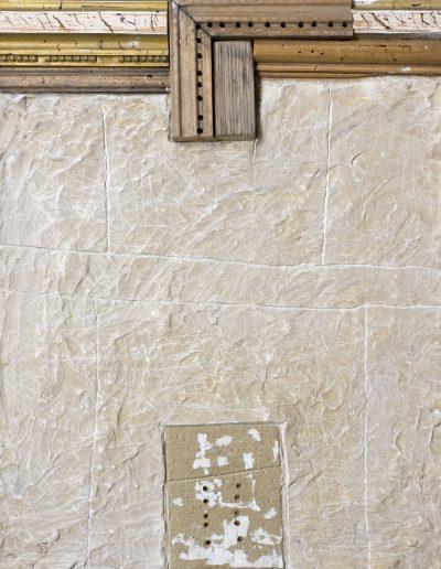 123. Lukacsos fal 2009. (50x40 cm) v.t.