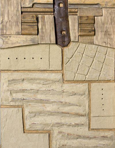 137. Kulcsi fal II. 2009. (60x43 cm) v.t.