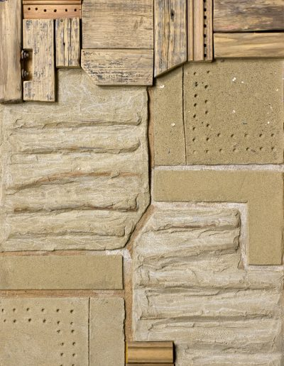 140. Kulcsi fal 2009. (62x43 cm) v.t.
