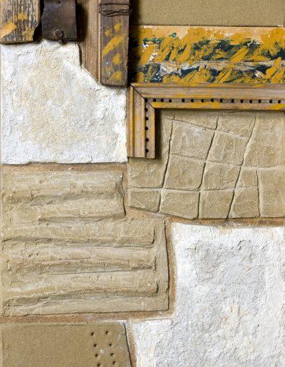 142. Fal ősszel 2009. (65x39 cm) v.t.