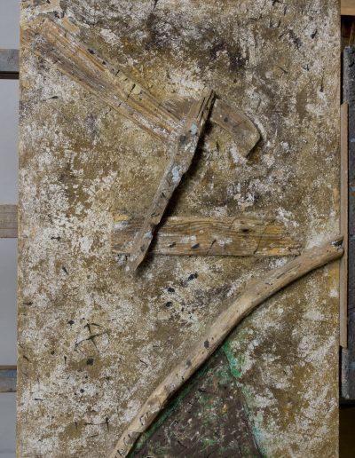 154. Roncskép IX. 1993. (90x60) v.t.