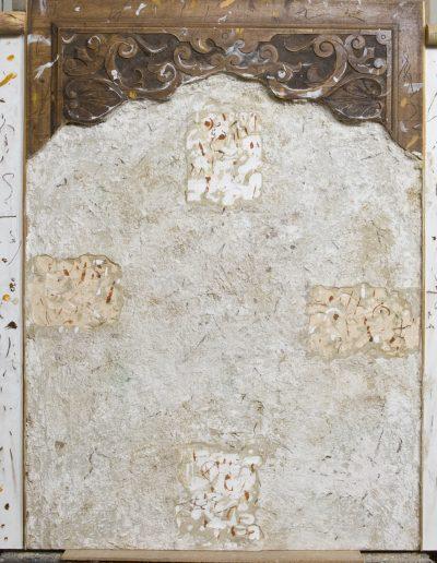 156. Szögek 1999. (80x180 cm) v.t.