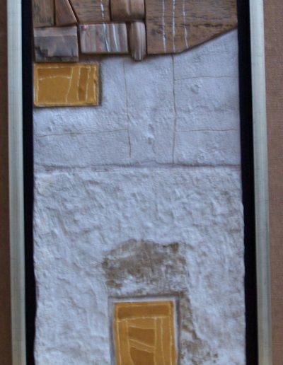 258. Sárga foltok 2014. (40x23 cm) v.t.
