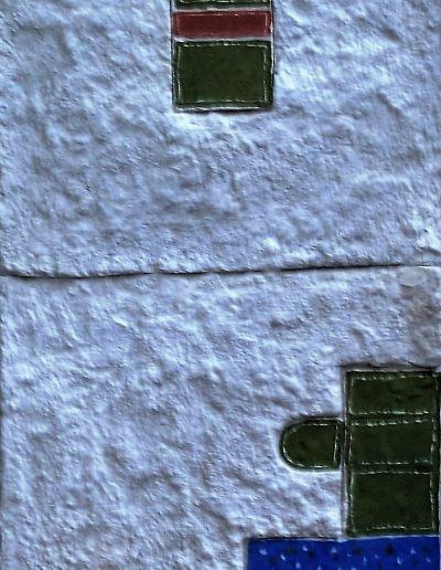 266. Kék pöttyös kép 40x25 cm 2015