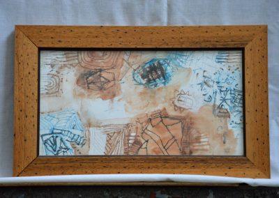314.Majdnem dél van Kulcson 2000. (20x36 cm) ceruza rajz