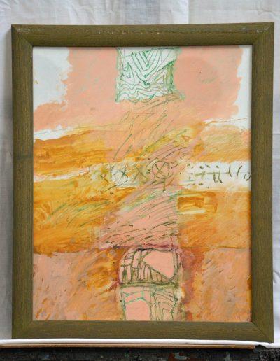 330. Cím nélkül 2007. (50x40 cm) farost, akvarell