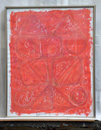 331. Cím nélküli 2007. (50x40 cm) papír, akvarell