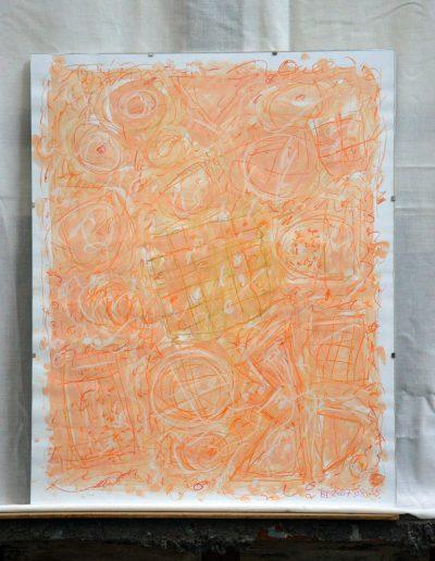 333. Cím nélküli 2007. 08.28. (50x40 cm) papír, akvarell