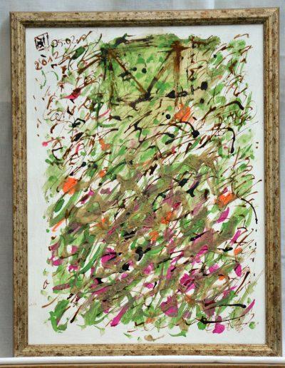337. Kerti rajz 2012. 05.02. (40x30 cm) farost, v.t.