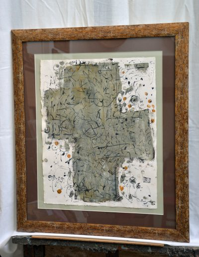 349.Jegyzet 1998.05.06. (40x50 cm) papír, akrill, tus