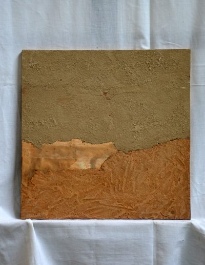 355. Csend II. 1990. 11.11. (40x40 cm) v.t.