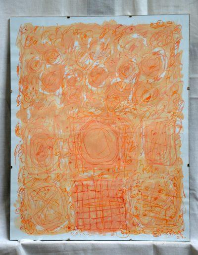 359. Kulcsi kert I. 2007. 08.24. (50x40 cm) papír, v.t.