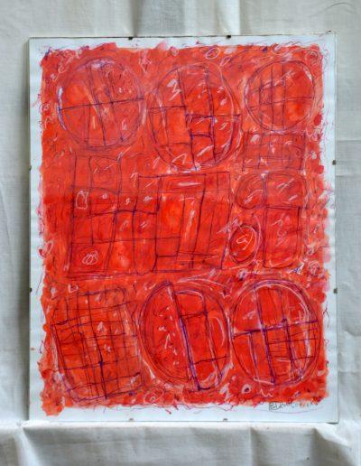 360. Cím nélkül IX. 2007. 07.11.(50x40 cm) papír, v.t.