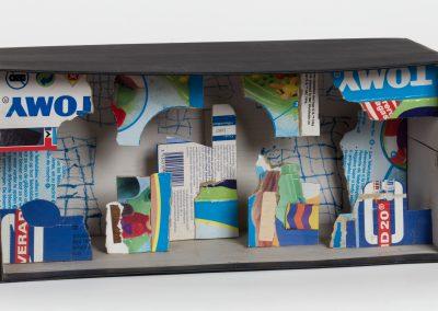 376. Tomy doboz 2009. 07.14. (16x29x8,5 cm) papír