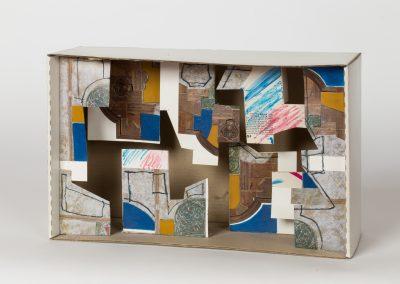 377. Meghívó doboz 2008. (18,530x10,5 cm) papír