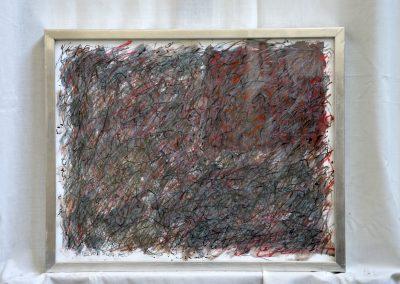 388.Kulcsi éjszaka 2008.(30x40 cm) papír, zsírkréta