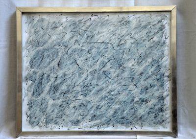 391. Fehér kert 2008. (30x40 cm) papír, zsírkréta