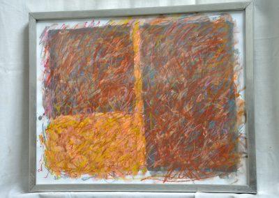 399. Kezdődik az ősz 2008.(30x40 cm) papír, zsírkréta