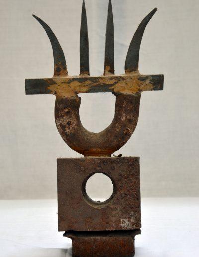 409. Cím nélküli, év nélküli (34,5x19x9 cm) vas