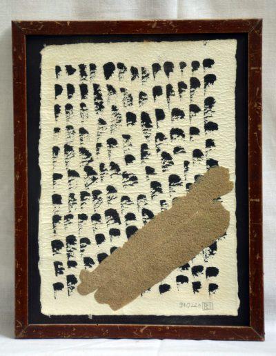 412. Cím nélkül 1991. (20x14,4 cm) papír, v.t.