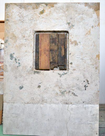 415. Ablak XXIV. 1991.01.28.(160x115 cm) v.t.