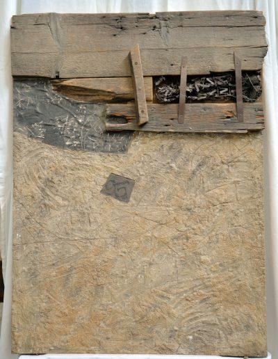 420. Roncskép III. 1995.05.11.(92,5x69 cm) v.t.