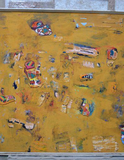 421. Jelek 1997.09.25. (150x126 cm) vászon, olaj