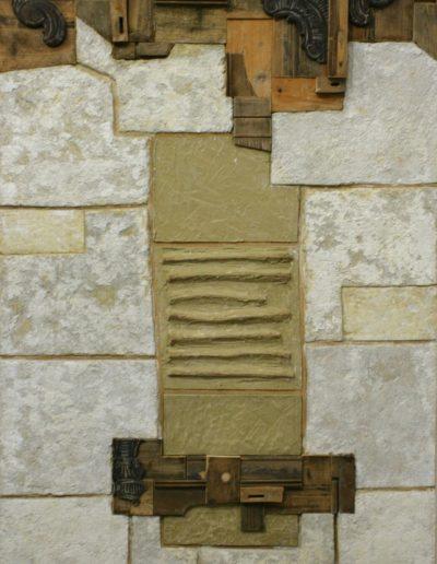86. Életem Kunmadaras II. 2007. (206x111120 cm) v.t.