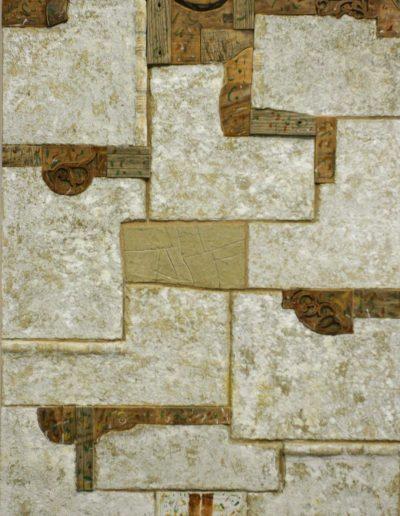 87. Életem Kunmadaras III. 2008 (195x120 cm) v.t.