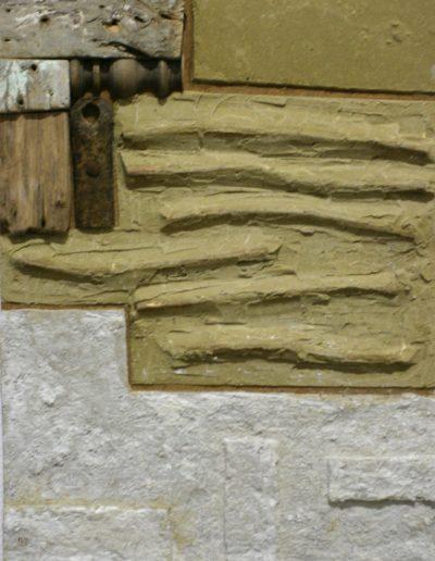 91. Vakolt kép 2008. (65x50 cm) v.t.
