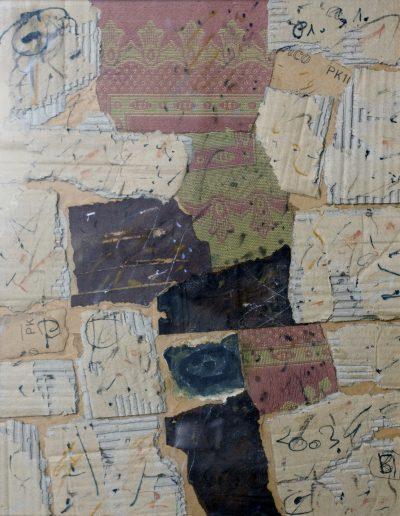 126. Kulcsi jegyzet XX. 2003. (50x40 cm) papír