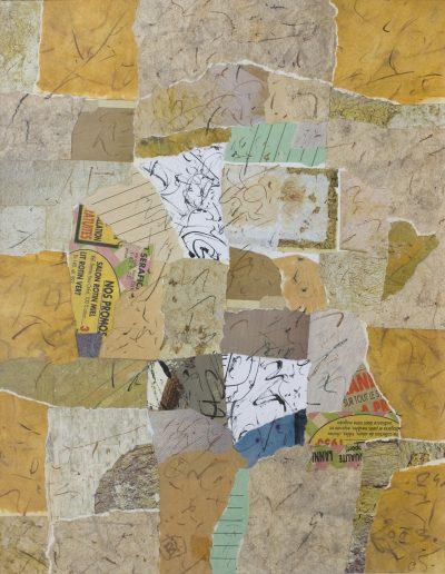 133. Kulcsi jegyzet XXII. 2003. (50x40 cm) papír