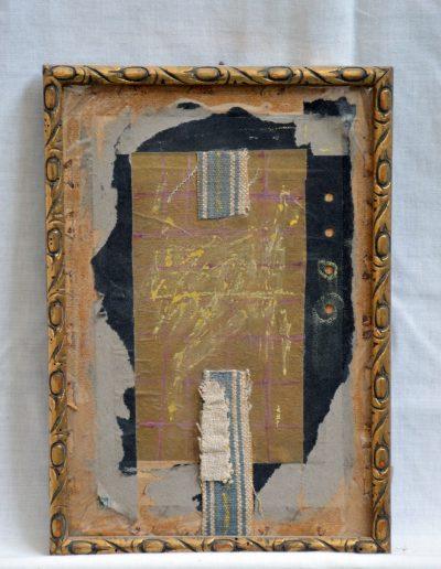 318.Cím nélkül, év nélkül (25x18 cm) papír kollázs