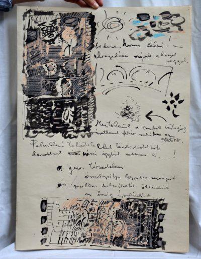 459. Cím nélkül é.n. (70x50 cm) tus, akvarell