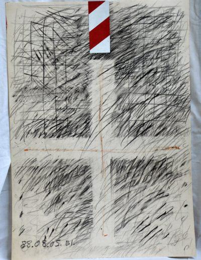 466. Cím nélkül 1988.08.05. (70x50 cm) v.t.