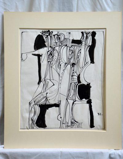 490. Ünnep I. 1972 (38x43 cm) tus