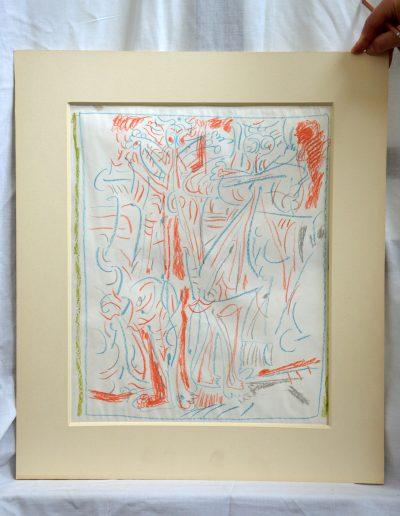 516. Ünnep XXXVIII. (43x34 cm) zsírkréta