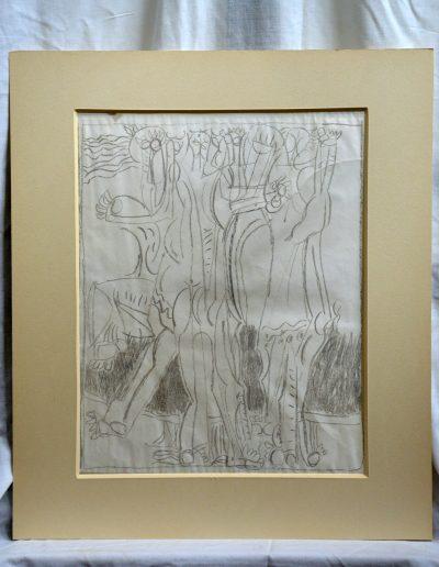 527. Ünnep XXXII. (43x34 cm) zsírkréta