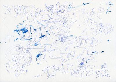 559. Cím nélkül 2002.03.20. (21x29,7 cm) toll rajz